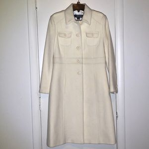 Kenneth Cole Reaction 4 Wool Coat Knee Length